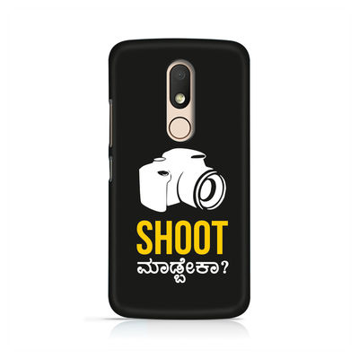 Shoot Madbeka Premium Printed Case For Moto M