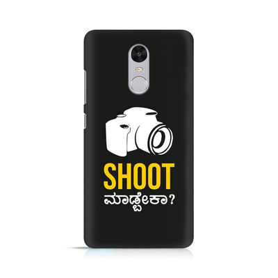Shoot Madbeka Premium Printed Case For Xiaomi Redmi Note 4