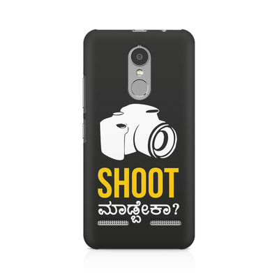 Shoot Madbeka Premium Printed Case For  Lenovo Vibe K6