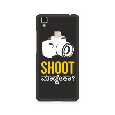 Shoot Madbeka Premium Printed Case For Vivo V3 Max