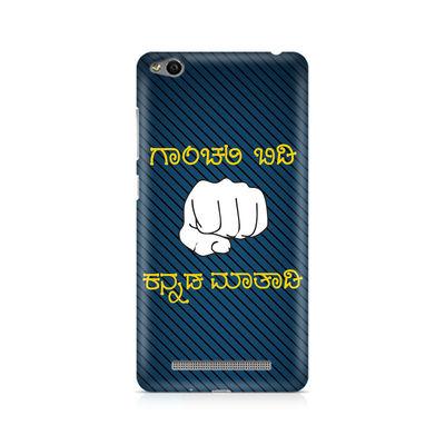 Ganchali bidi Kannada Maatadi Premium Printed Case For Xiaomi Redmi 3s