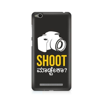 Shoot Madbeka Premium Printed Case For Xiaomi Redmi 3s