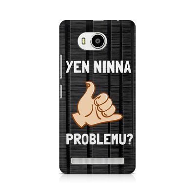 Yen Ninna Problemu? Premium Printed Case For Lenovo A7700