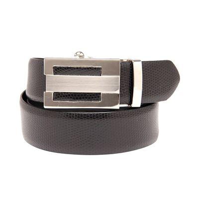 Leatherplus Black Belt for Men(422)