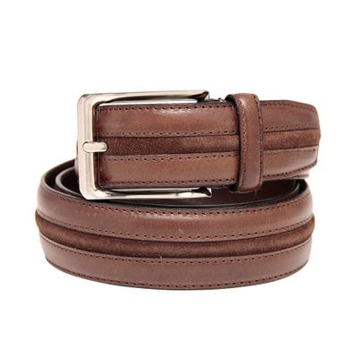 Leatherplus Brown Belt for Men(C-304)
