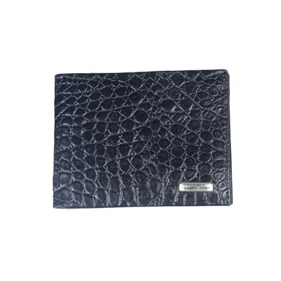 Leatherplus Black Wallet for Men(2081)