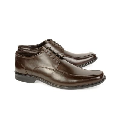 Leatherplus Brown Formal Lace up Shoes for Men (12160)