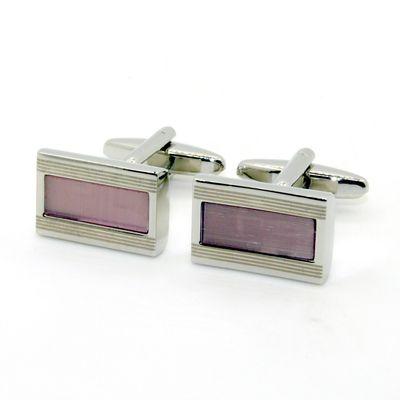 Pink Enamel Cufflinks (150129)