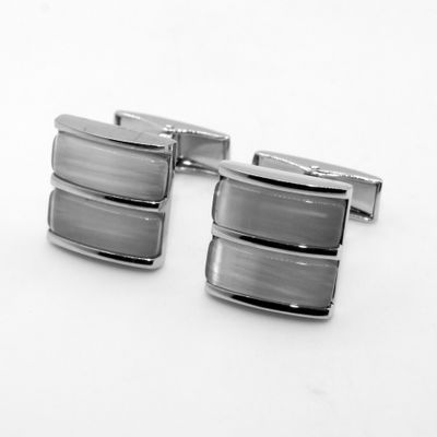 Cat Eye Stone Cufflinks (150670)
