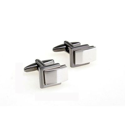 Two Tone Plating Cufflinks (155917)