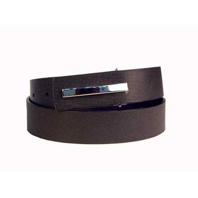 Leatherplus Black Belt for Men(B-307)