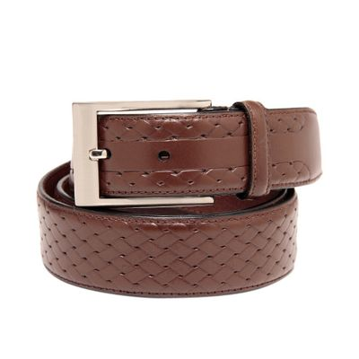 Leatherplus Brown Belt for Men(C-11)