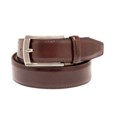 Leatherplus Brown Belt for Men(E-302)