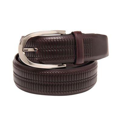 Leatherplus Brown Belt for Men(C-52)