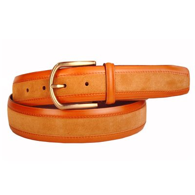 Leatherplus Tan Belt for Men(C-1501-1)