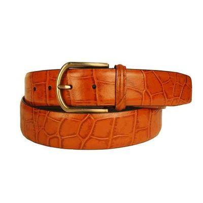 Leatherplus Tan Belt for Men(C-1540)