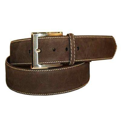 Leatherplus Black Belt for Men(C-165)