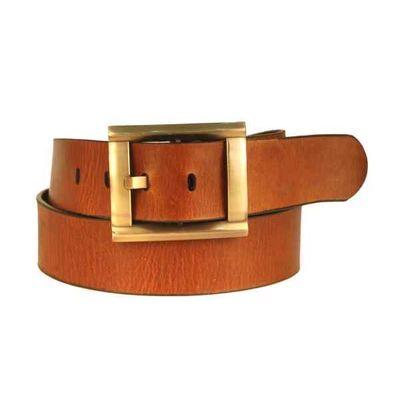 Leatherplus Tan Belt for Men(C-40)