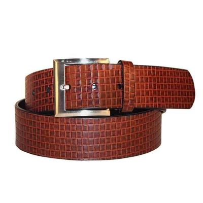 Leatherplus Brown Belt for Men(C-501)