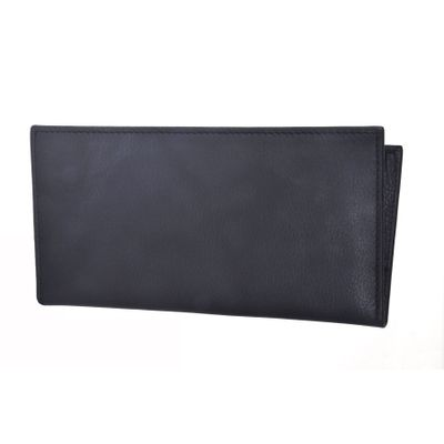 Leatherplus Black Wallet for Women(002)