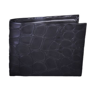Leatherplus Black Wallet for Men(2075)