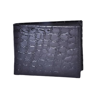Leatherplus Black Wallet for Men(2064)