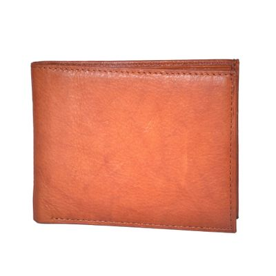 Leatherplus Tan Wallet for Men(2001)