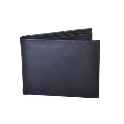 Leatherplus Black Wallet for Men(2055)