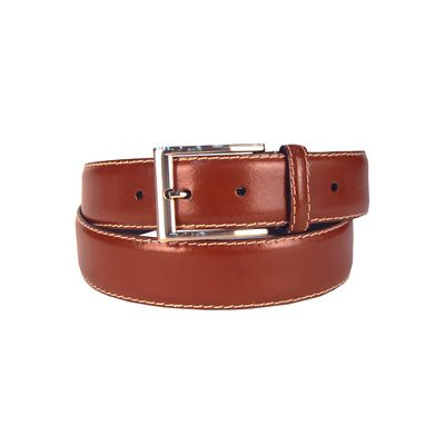 Leatherplus Brown Belt for Men(IT-35)