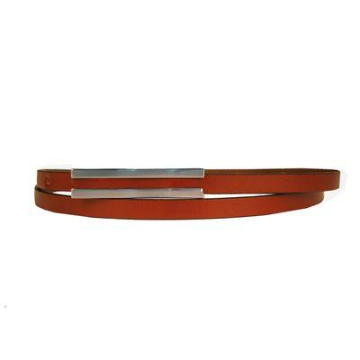 Leatherplus Brown Belt for Women(LB-15)