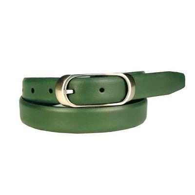 Leatherplus Green Belt for Women(LB-08)