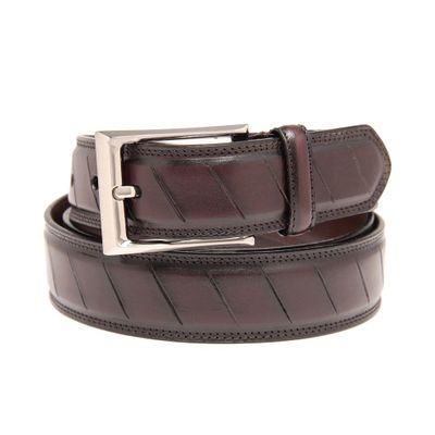 Leatherplus Brown Belt for Men(C-1550)
