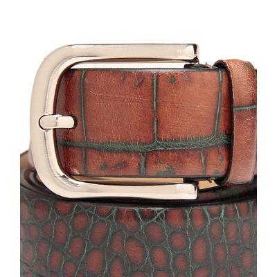 Leatherplus Tan Belt for Men(C-1501)