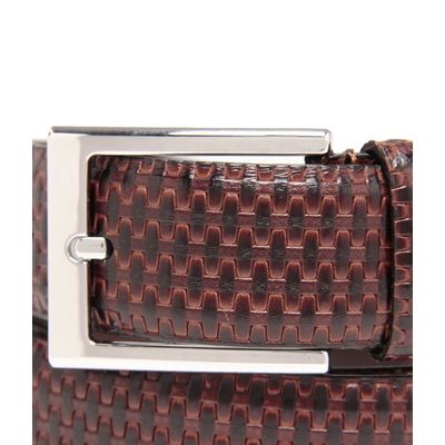 Leatherplus Brown Belt for Men(C-205)