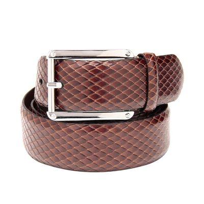 Leatherplus Brown Belt for Men(C-206)