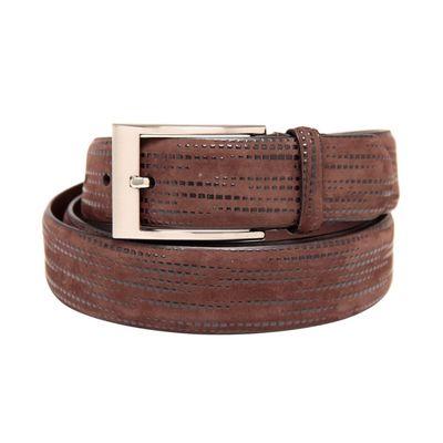 Leatherplus Brown Belt for Men(C-213)