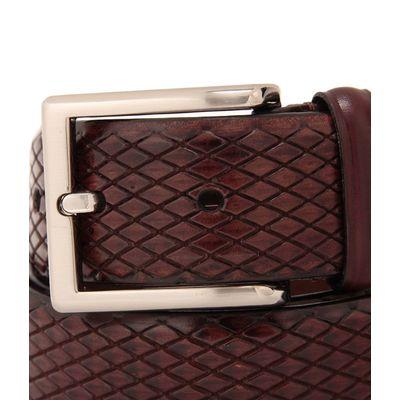 Leatherplus Brown Belt for Men(C-11)