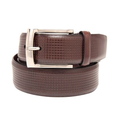Leatherplus Brown Belt for Men(C-12)