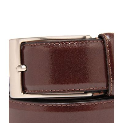 Leatherplus Brown Belt for Men(E-35)