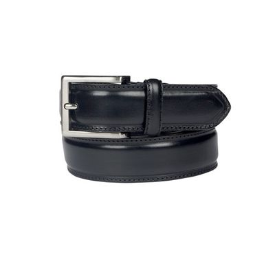 Leatherplus Black Belt for Men(C-22)