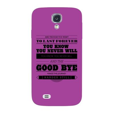 Goodbye mobile cover