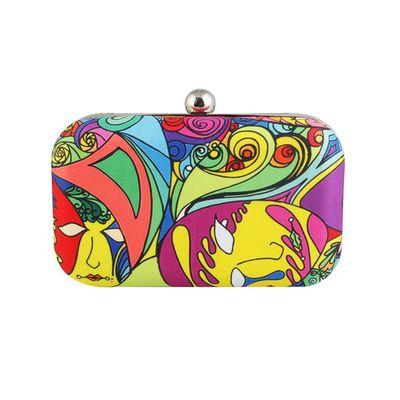 Carnival clutch bag
