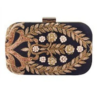 Mysterious gold clutch