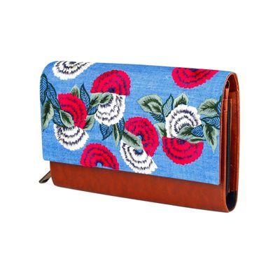 Flower power wallet