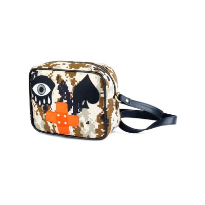 Band Aid Eye sling bag