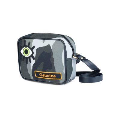 Eye genuine sling bag