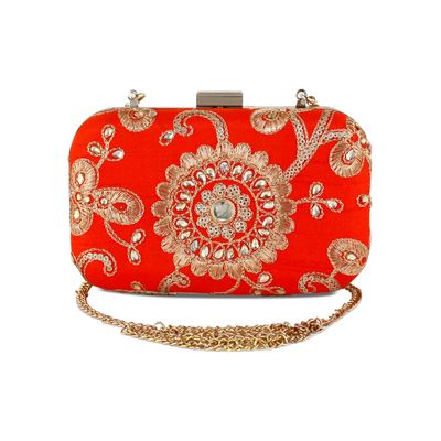 Tangerine all the way clutch
