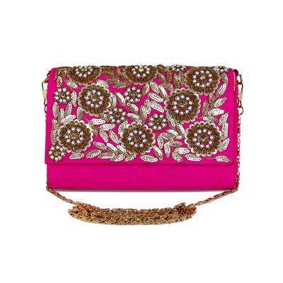 Beauteous Pink clutch