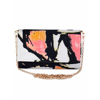 Graffitti clutch