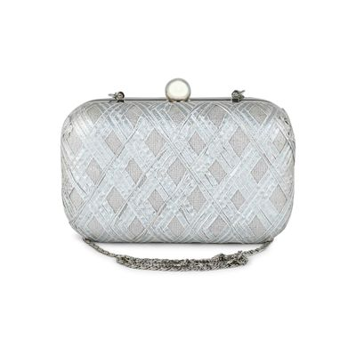 The All Silver clutch